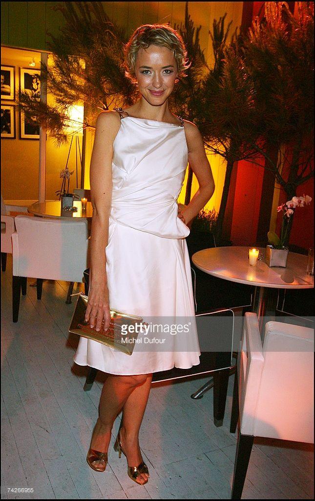 Photo d'actualité : Helene de Fougerolles attend a dinner sponsored...