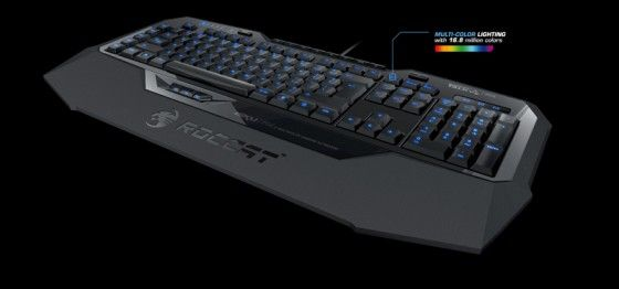 ROCCAT Isku FX Multicolor Gaming Keyboard Available Now - Metal Arcade