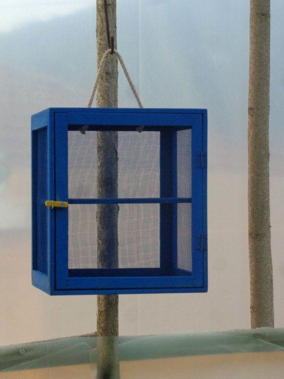 Cheese cabinet Greek fanari screened cupboard dehydrator by aeolia
