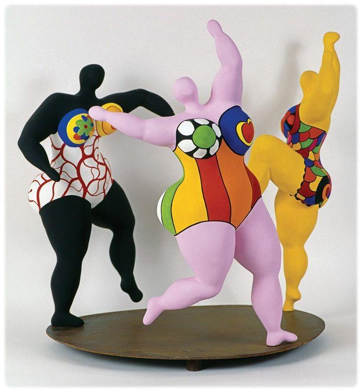 Les Nanas, de Niki de Saint Phalle - Zil et compagnie