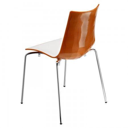 Zebra stoel Scab Design oranje kuip | Musthaves verzendt gratis
