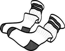 Image result for coloring sheets of socks and feet