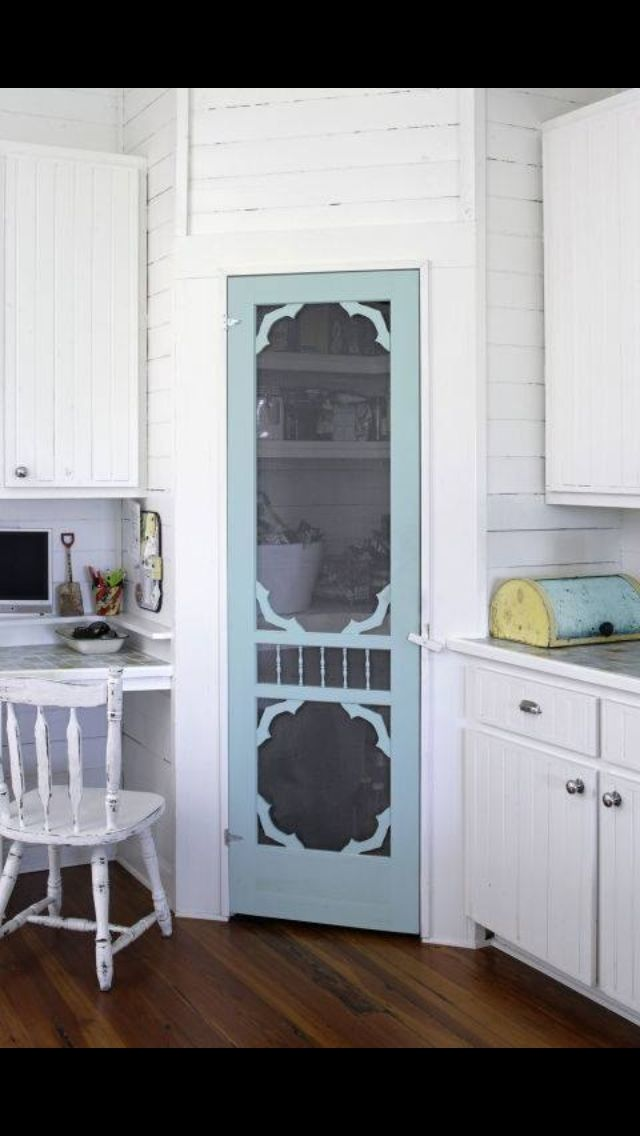 Farmhouse Pantry Door Kitchen In 2019 Corner Pantry