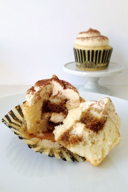 Tiramisu Cupcakes--- When Life Gives You Sprinkles
