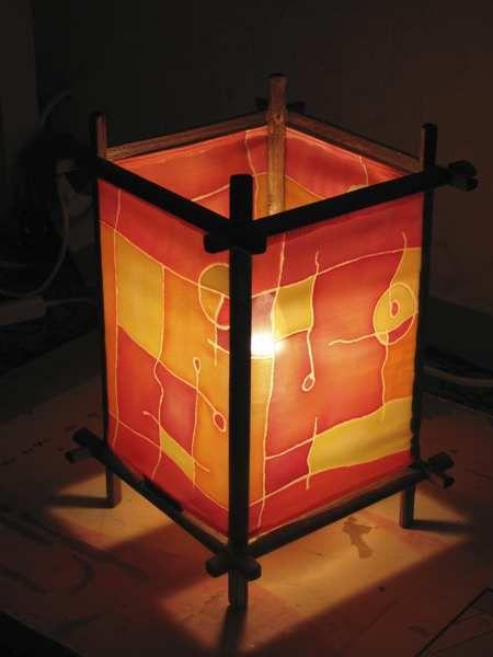 Светильник ручной работы Традиционный - Самодельные светильники из подручных материалов - Zen Designer