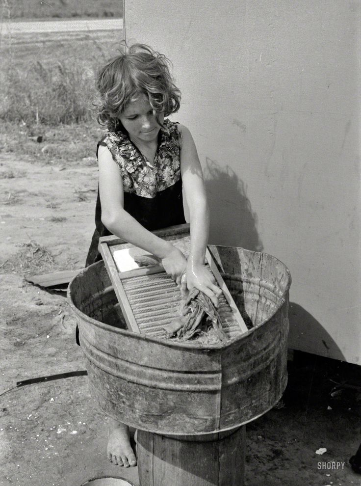 Washing Tubs From The Past ~ Best vintage laundry images on pinterest