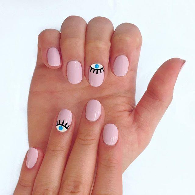 15 Diseños de 'nail art' que son perfectos para chicas que usan las uñas cortas