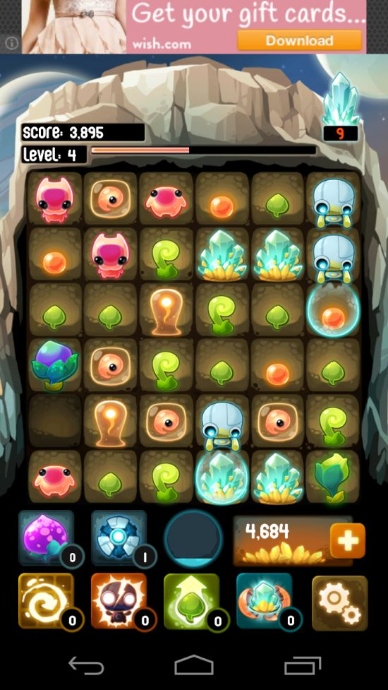 Alien Hive – evolve aliens in ultimate mash-up match 3 sliding tile puzzle game! - http://mobilephoneadvise.com/alien-hive-evolve-aliens-in-ultimate-mash-up-match-3-sliding-tile-puzzle-game