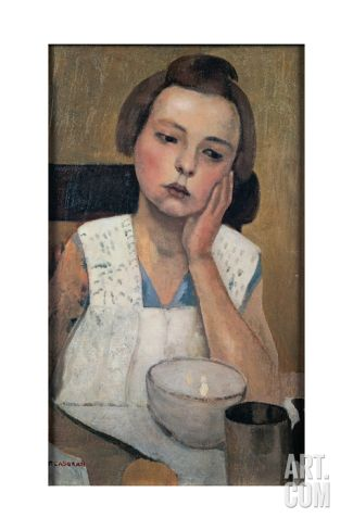 Portrait Giclee Print by Casorati Felice at Art.com
