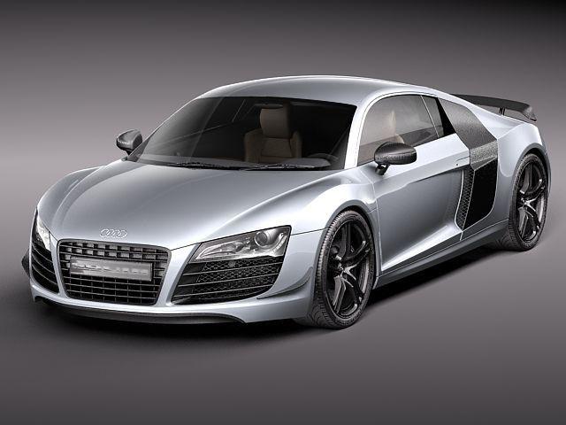 Obj Audi R8 Gt 2011 - 3D Model