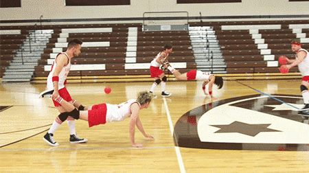 One Direction dodgeball - wheelbarrows  - Sugarscape.com