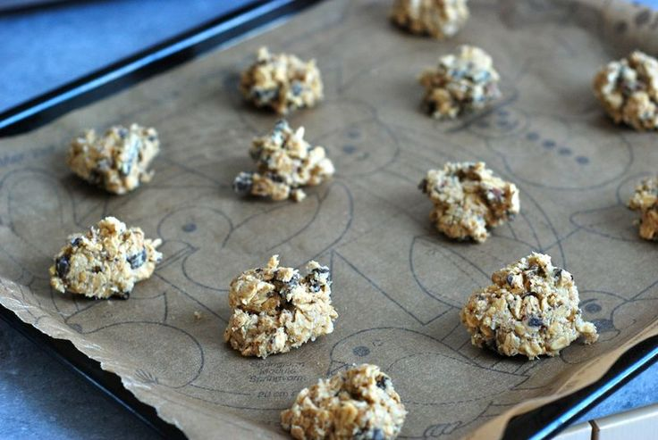 """Chocolate Oatmeal Coconut Cookies from Gourmet magazine via """"the Wednesday Chef's Luissa Weiss"""