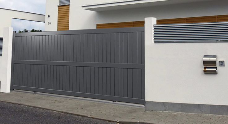 Best 25 sliding gate ideas on pinterest sliding fence - Sliding main gate design for home ...