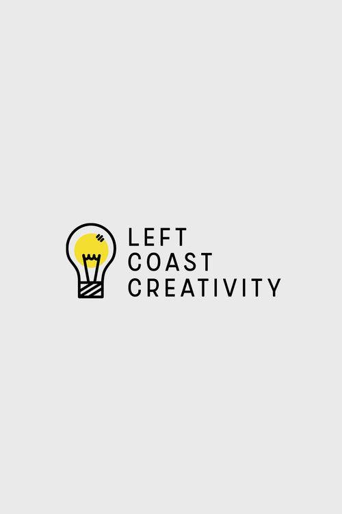 Logo Concept for Left Coast Creativity by Emily Banks Creative.
