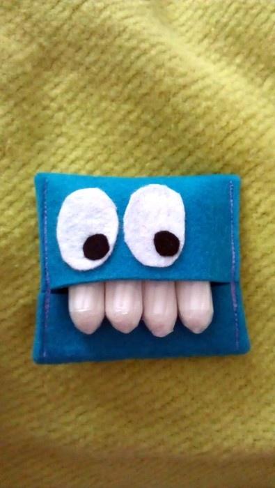 Tampon Monster Tasche