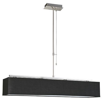 Philips hanglamp Ely nikkel 4x42w 1 lange kap | Praxis
