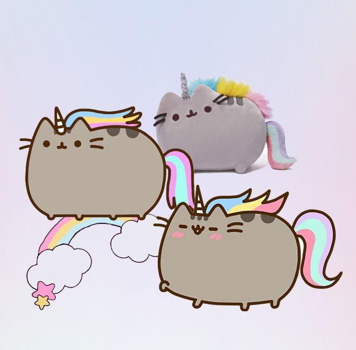 Rainbow Unicorn Pusheen | Pusheen cat, Pusheen, Hello kitty