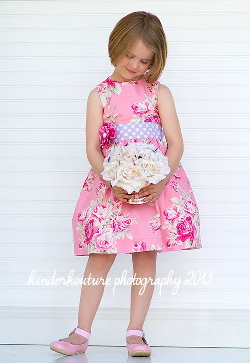 The Perfect Party Dress - Classic Girls Dress pattern - 2 - 10 yrs