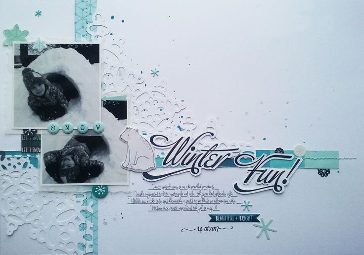 Crate Paper - Snow and Cocoa