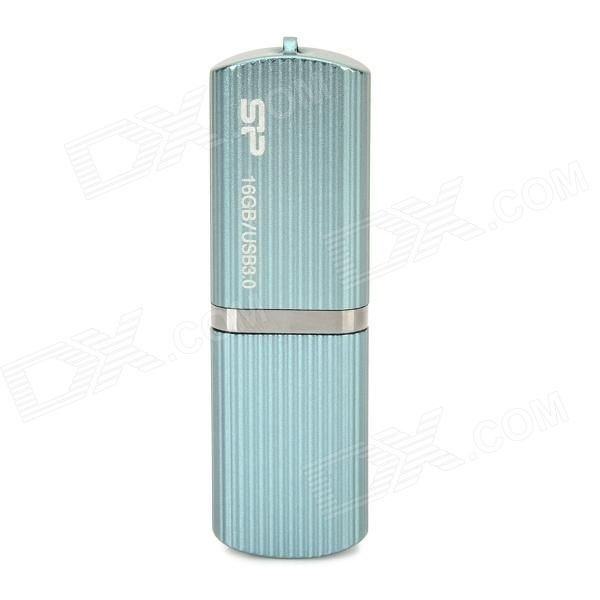 Color: Light Blue; Capacity: 16GB; Brand: Others,SP; Model: M50; Material: Aluminium; Quantity: 1 Piece; Max Read Speed: 90MB/s; Max Write Speed: 60MB/s; USB: USB 3.0; With Indicator: No; Other Features: Support Win 8 / Win 7 / Win Vista / Win XP; Packing List: 1 x USB flash drive; http://j.mp/1v2FSOM
