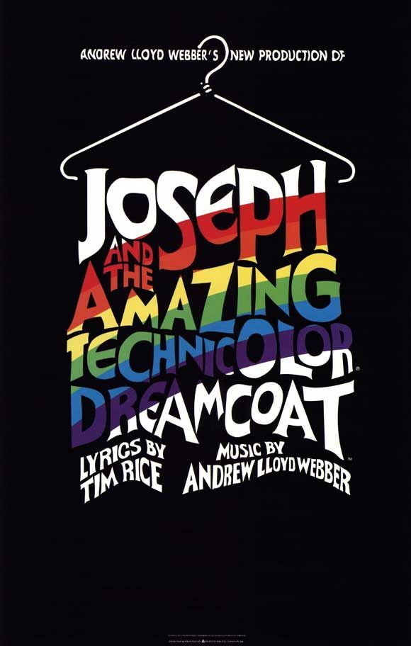 Joseph and the Amazing Technicolor Dreamcoat 27x40 Broadway Show Poster