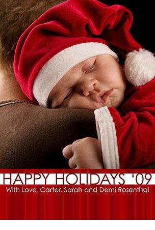 Newborn Christmas photography - Adorable!