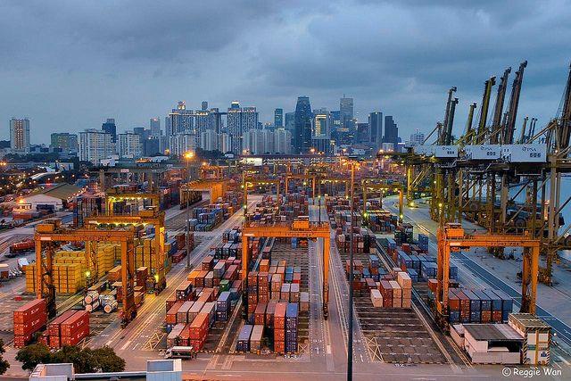 Port of Singapore 1. | Flickr - Photo Sharing!