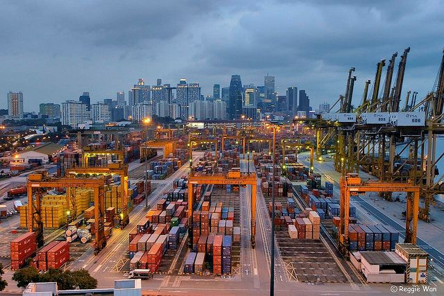 Port of Singapore 1. | Flickr - Photo Sharing!