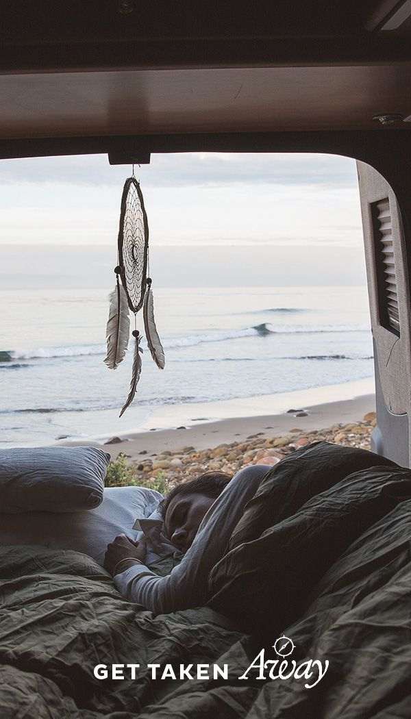 Rise, shine, and dream. Imagine yourself in the RV life.