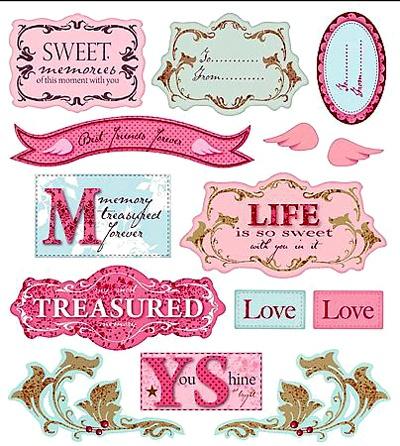 Tilda style labels