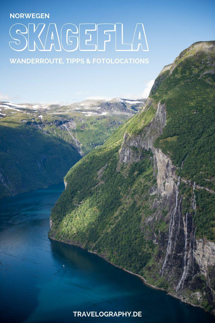 Norwegen und der Geirangerfjord – Wanderung zum Hof Skageflå und der Blick auf die Sieben Schwestern