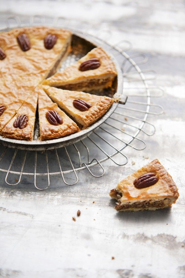 Pecannoten-karamelkoek - 'Rutger bakt'