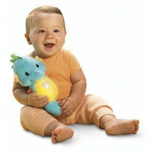 Fisher Price Seahorse – I immediately looked this up, and hello.  This is like the upgraded gloworm, from our childhood (which still has a place in my heart.)  You squeeze it and it lights up and plays lullabies and ocean sounds for 5 minutes, before gradually fading away. #shepicks gifts for babies & toddlers #giftguide