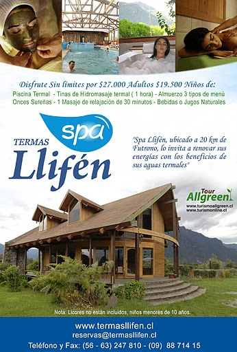 Afiches -Termas LLifen