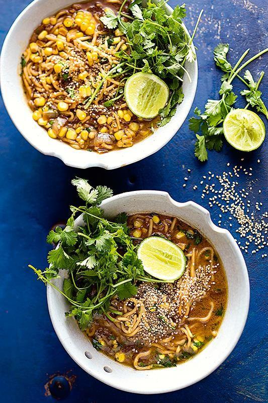 Thai soup with coconut milk   Thaise klappermelksop #rooirose