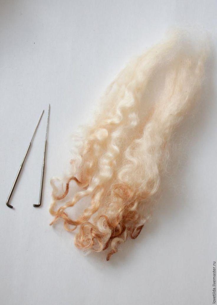 Делаем причёску для текстильной куклы - Ярмарка Мастеров - ручная работа, handmade