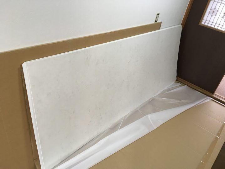 浴室タイル壁にバスパネル アルパレージ をdiyで貼り付け施工する方法 2020 浴室 タイル タイル 壁