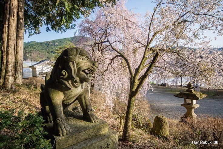 Sakuragaoka Hachimangu shrine in Takayama