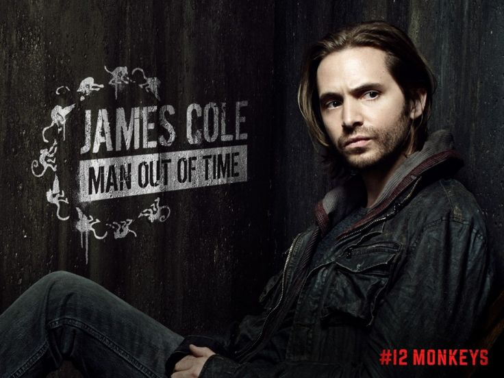#12Monkeys James Cole: Man Out of Time. He's adorable.