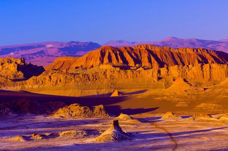 Chile - Valle de la Luna - want to visit ,en San Pedro de Atacama al interior II Región Antofagasta CHILE: