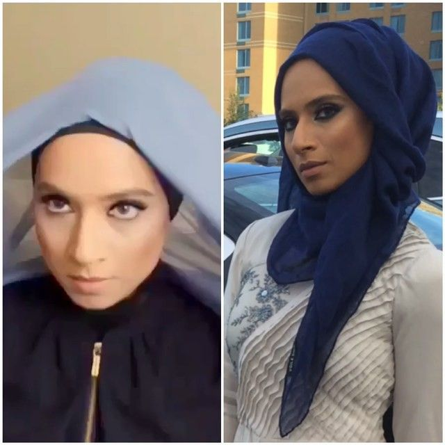 """2,218 Likes, 113 Comments - Saman Munir (@makeuphijabs) on Instagram: """"Here it is again. Watch full video of this easy peasy hijab tutorial on my YouTube channel. Link is…"""""""