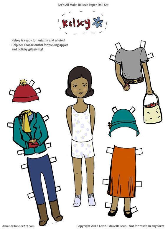 paper doll printable pdf digital download by letsallmakebelieve 0501500 free paper dolls for paper dolls printableafrican american