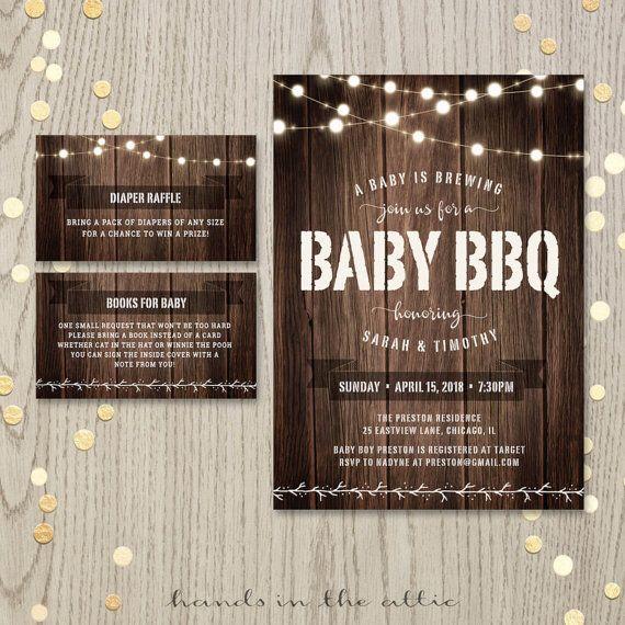 best 25+ backyard baby showers ideas on pinterest | baby q shower, Baby shower invitations