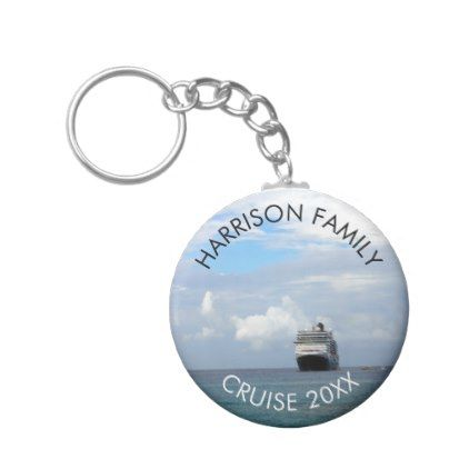 #Custom Family Vacation Cruise | Ocean Cruise Ship Keychain - #familyreunion #family #reunion