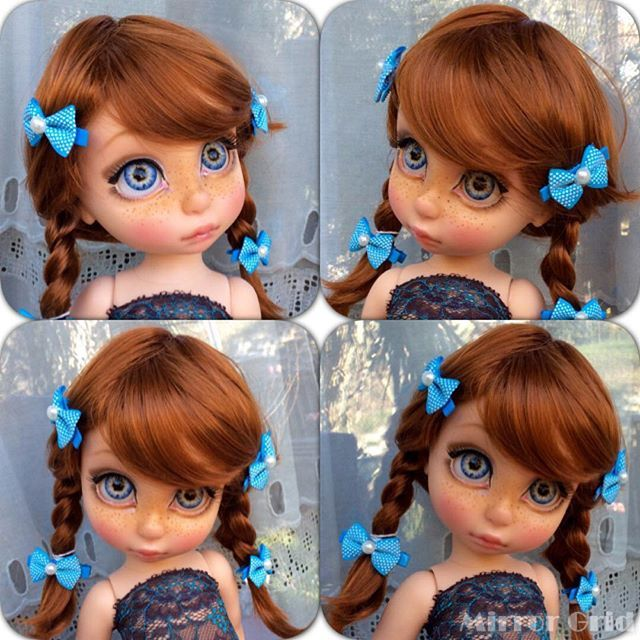#enixeatelier #disney #disneyanimators #Animator #Animators #animatordoll  #enixe #disneydoll #custom #ooak #doll #dolls #rapunzel #raperonzolo #eye #redhear #trecce #capellirossi