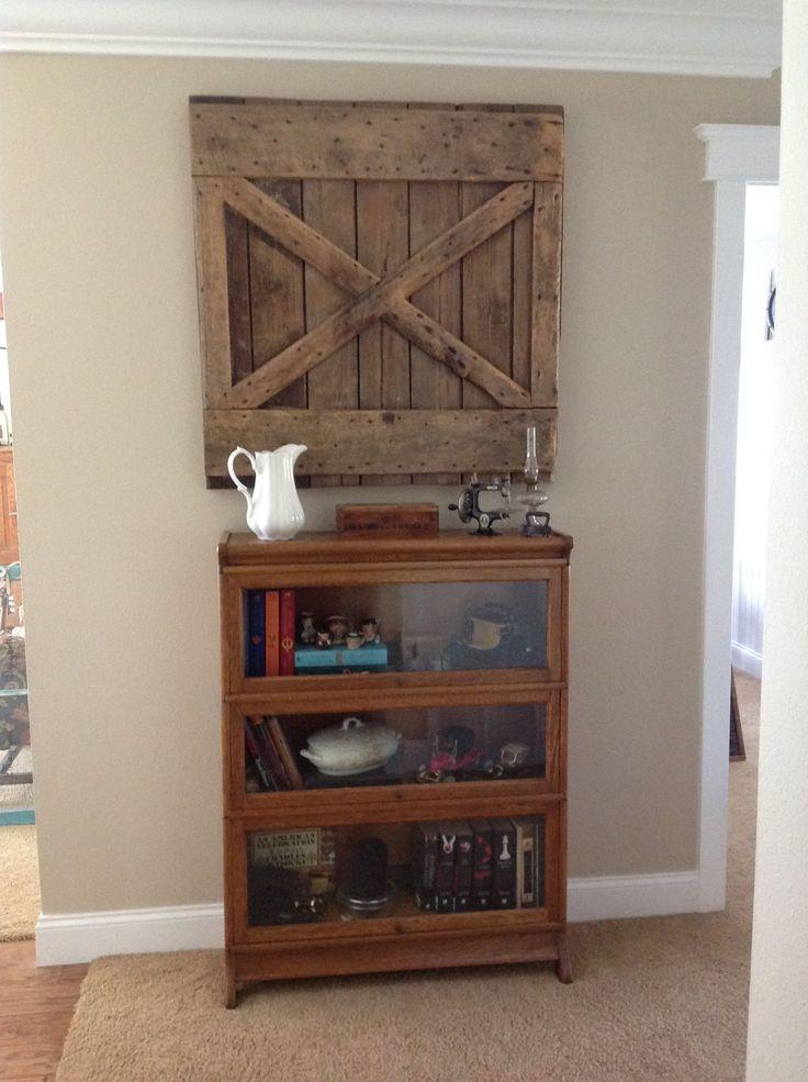 Barn Floor Hatch Door Used As Art. Thanks Sue And Tom