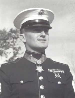 Corporal Robert E. O'Malley, US Marine Corps Medal of Honor recipient Operation Starlite near Chu Lai, Quang Nam Province, Vietnam August 18, 1965.