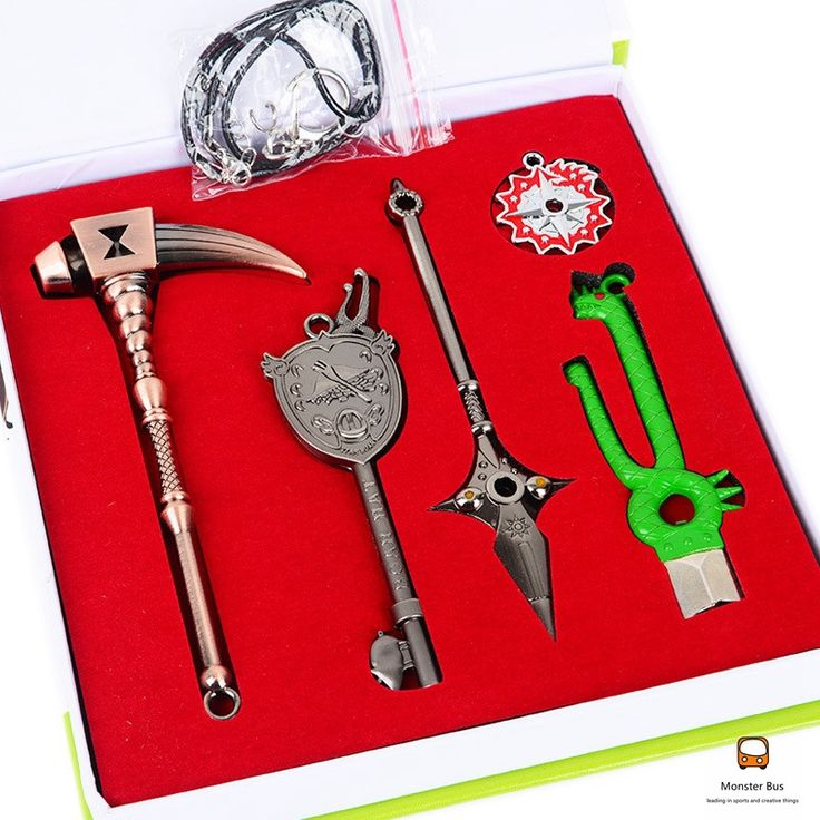 This Nanatsu no Taizai weapons collection set includes the primary weapons of the main characters - the Seven Sins! Included are the weapons of Diane: Gideon and also King: Chastiefol. The set also co