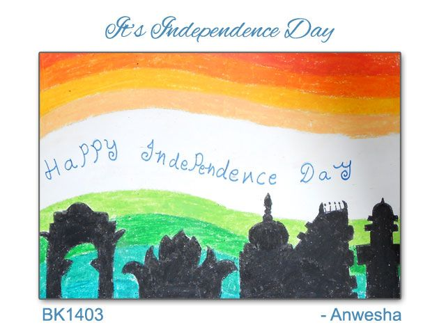 Celebrating #independence day #india   with kids in Baalkala's ART Program... Keep Loving It... :)  15 Aug.