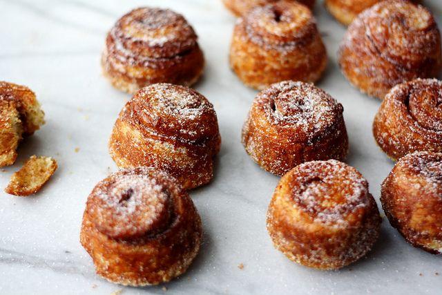 morning baking by seven spoons • tara, via FlickrDesserts, Sugar Buns, Spoons, Cinnamon Rolls, Baking Projects, Mornings Baking, Breads, Food Blog, Favorite Recipe